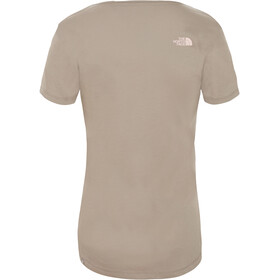 The North Face Simple Dome T-shirt Dames, silt grey